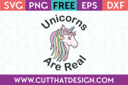 Free Unicorn Cutting File