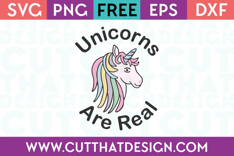 Free Unicorn Cutting File