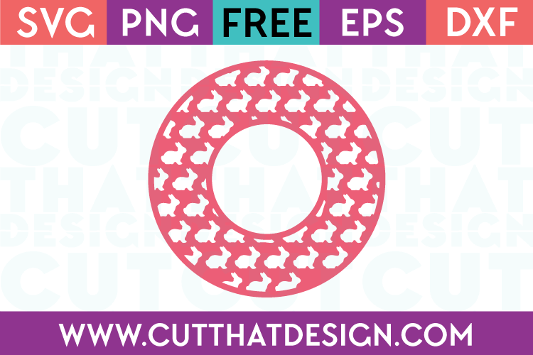Free Easter Bunny SVG