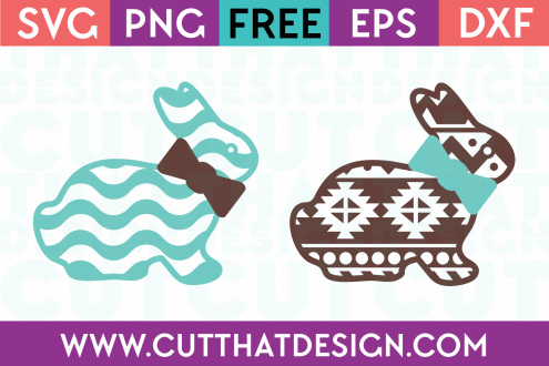Free Easter Cut Files Bunny