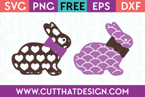 Free SVG Files for Download Easter Bunny
