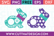 SVG and PNG Free Easter Cut Files