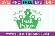 Free Irish Prince SVG