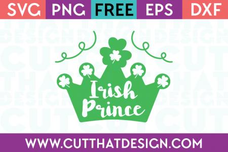 Free Irish Prince SVG