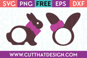 Free Easter Bunny Ears SVG