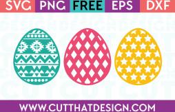 Easter Egg SVG Cuts Free File Downloads