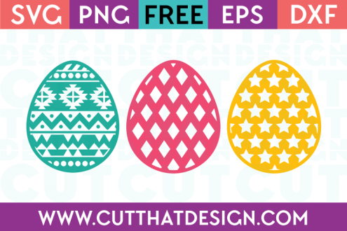 Easter Egg SVG Cuts Free File Downloads