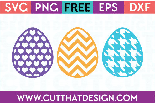Egg SVG Cutting Files Free for Easter