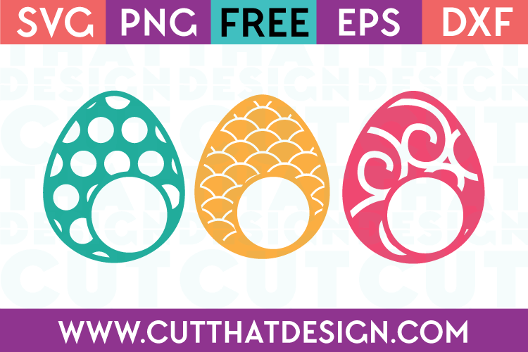 free easter egg svg files