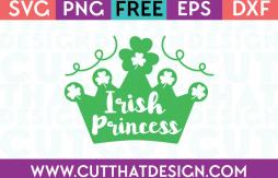 Free SVG Irish Prince