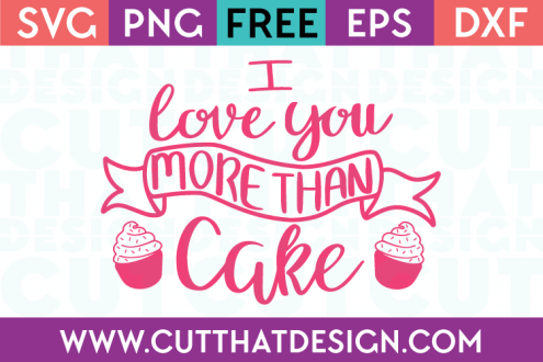 SVG Quotes Free Cake