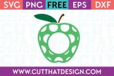 Free Apple SVG Cut Files