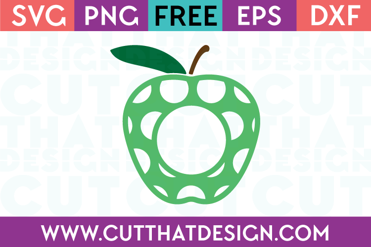 Free Apple SVG Cut Files