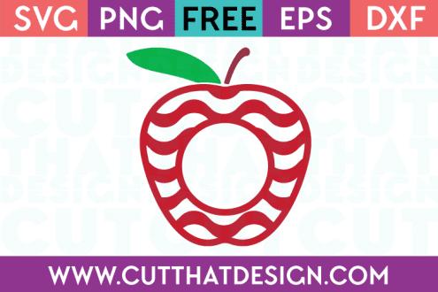 Apple Cut Files for Cricut