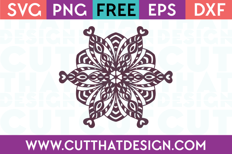 Free Mandala SVG Cutting File