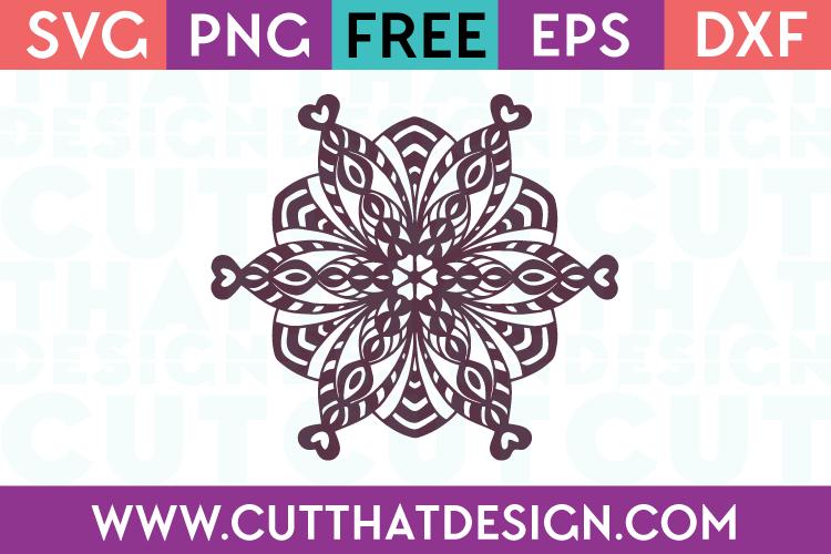 Free Mandala SVG Cutting File