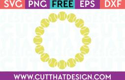 Basebcall Circleframes Free SVG