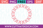 Free Circle Frame SVG for Cricut