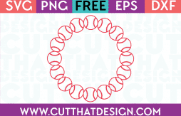 Free Circle Frame SVG for Cricut