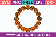 free circle monogram svg