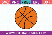 Free Basketball SVG