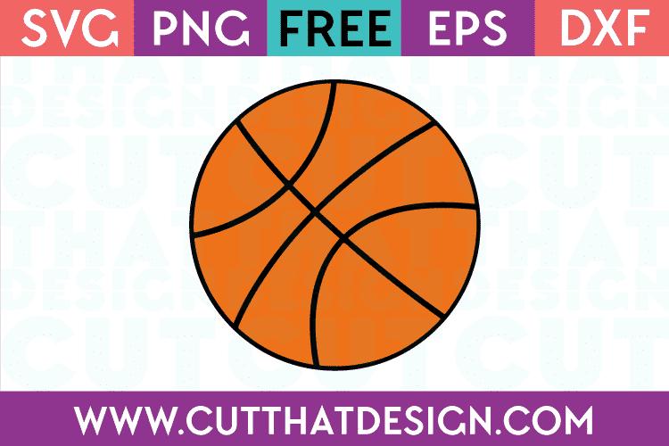 Free Basketball SVG