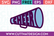 free cheerleading svg files