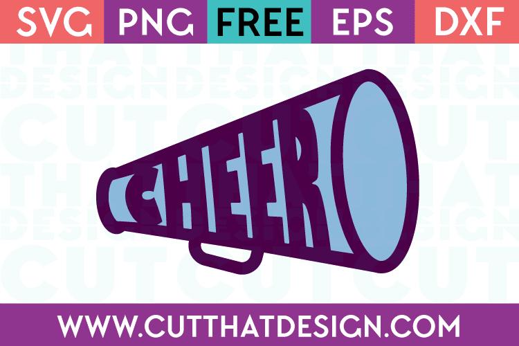 free cheerleading svg files