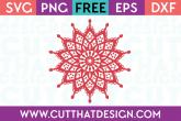 Mandala Outline SVG File