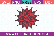 SVG Cutting Files Mandala
