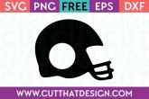Free Football Helmet SVG Cutting File