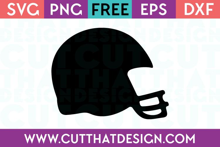 Free Football Helmet Cut File