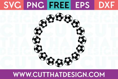Free soccer ball svg