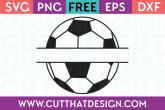 Free soccer monogram svg