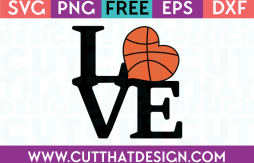 Love Basketball svg