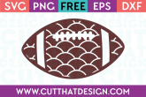 Free Football svg files for silhouette