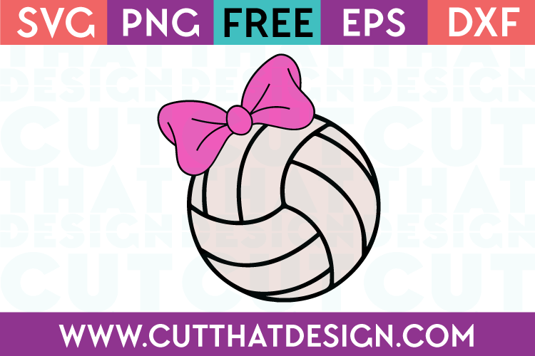 volleyball cut files for silhouette