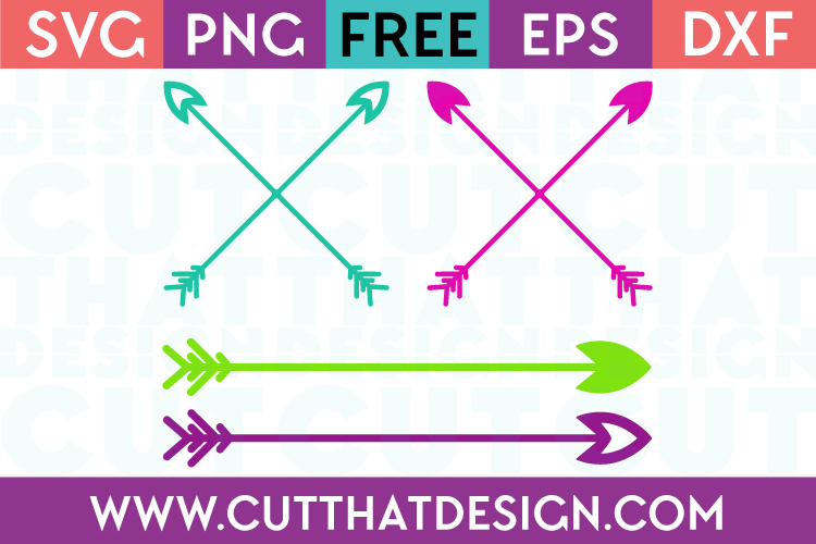 Free arrow cut file