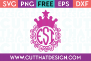 Princess svg file free