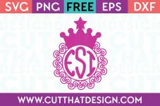 Princess svg file free