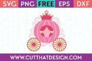 Cinderella carriage svg