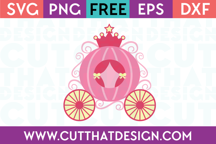 Cinderella carriage svg