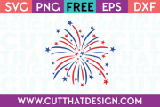 Free SVG Files Firework Design
