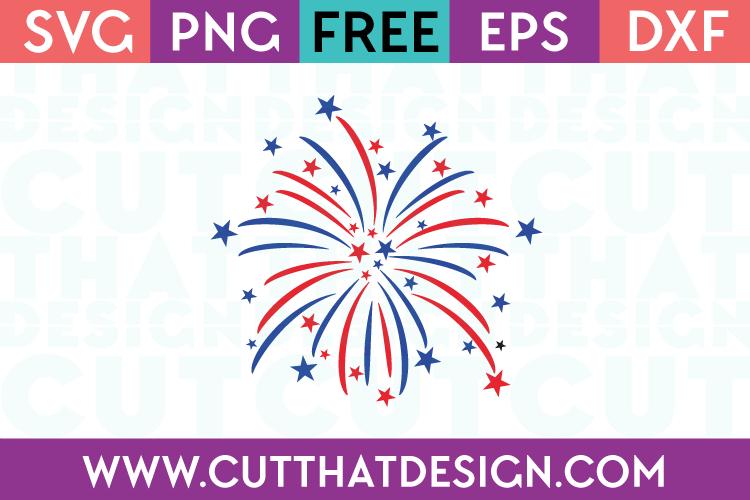 Free SVG Files Firework Design