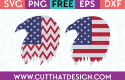 Free SVG Files USA Flag Flying Eagle Designs 2