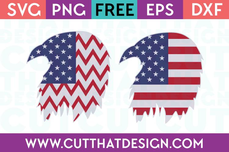 Free SVG Files USA Flag Flying Eagle Designs 2