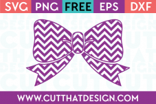 Free Chevron Bow SVG