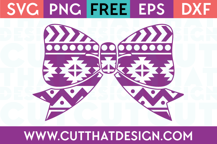 Free Aztec Bow SVG