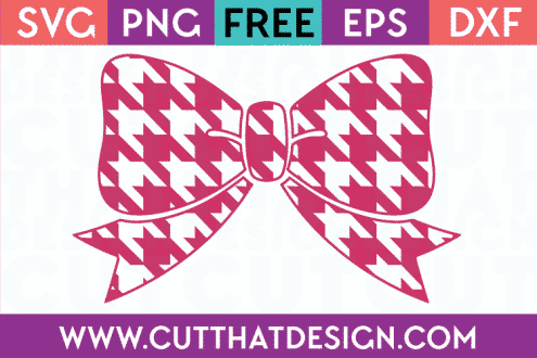 Free Bow SVG Cutting Files