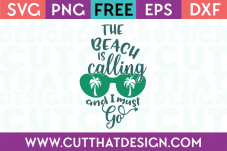 Free Summer SVG Cutting FIles